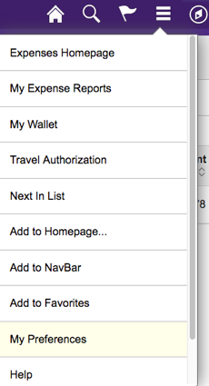 Expense Report Header And Line Amounts Do Not Match Error on
