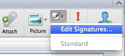how to create signature in outlook web app