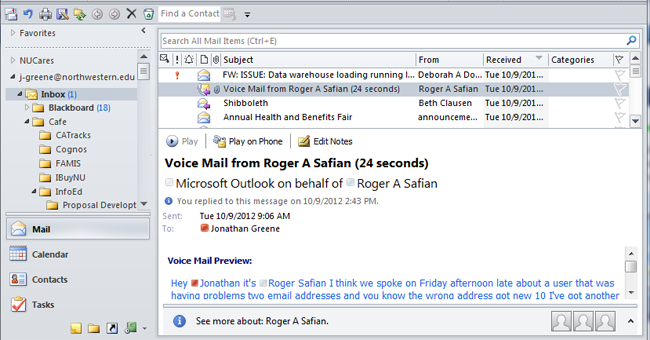 free voicemail answer machine messages