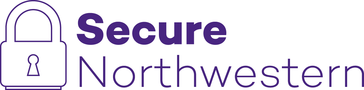 Image of Secure Northwestern logo